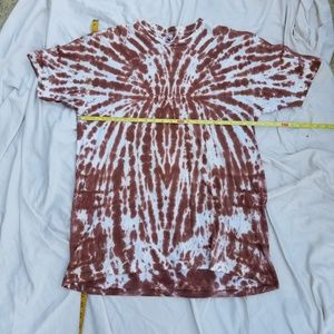 American Apparel Tops - Tie dye t-shirt with Auntie Mame quote